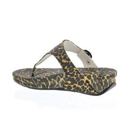 FitFlop Zehensteg - Pantolette Superjelly, Leopard, Brown