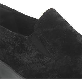 Semler Judith, Slipper, Metall-Velour, schwarz, Weite H J7025-031-001