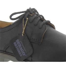 Sebago Turner Lace Up WP, Black Leather WP 810-260