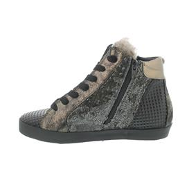 Donna Carolina Sneaker, Mix Stone, seitl. Reißverschlüsse 32.402.052-004