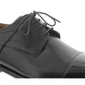 Manz Essex, Buff-Silver, schwarz, Ledersohle, Weite G 113033-12-001