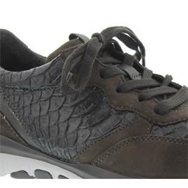 Gabor - Comfort Rollingsoft, Snake/Samt/Perlato, steel / dark-grey 56.968.83
