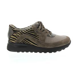 Waldläufer Hiroko, Sneaker, Velour/Eclis, peltro/corda/peltro 364004-600-103