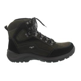 Waldläufer Hayo Bootie, Waldläufer-Tex, Nubukleder, schwarz/brasil, Weite H 415900-950-742