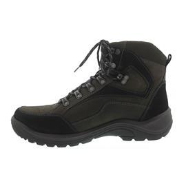 Waldläufer Hayo, Waldläufer-Tex, Nubukleder, schwarz/brasil, Weite H 415900-950-742