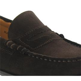 Sebago Plaza II, Penny-Loafer, Brown Suede B616109