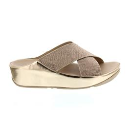 FitFlop Crystall Slide, Pantolette, Rose Gold B35-323