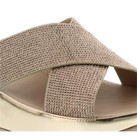FitFlop Crystall Slide, Pantolette, Rose Gold B35-323