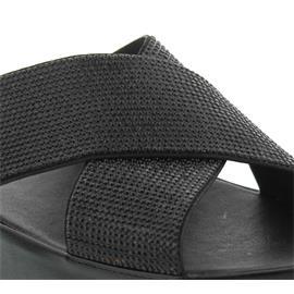 FitFlop Crystall Slide, Pantolette, Black B35-001