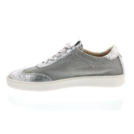 Donna Carolina Sneaker, Gotik Silver + Denim Silver 33.434.255-002