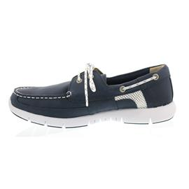 Sebago Kinsley Two Eye, Navy Leather B130237 Men