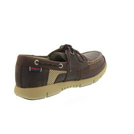 Sebago Kinsley Two Eye, Dk. Brown Leather B130238 Men