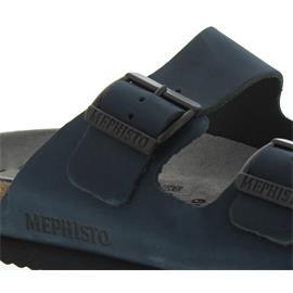 Mephisto Nerio, Herrenpantolette, Sandalbuck 6045, Navy N 1175