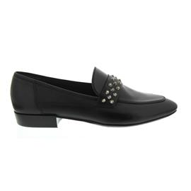 Donna Carolina Slipper, Vitello Nero Jil 33.300.171-003