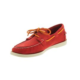 Sebago Docksides, Red Nubuck B720337 Men