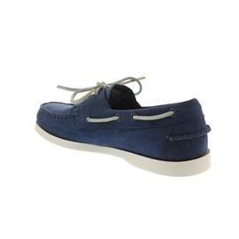 Sebago Docksides, Navy Nubuck B720184 Men