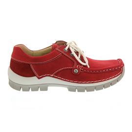 Wolky Seamy Fly, Red Summer, Mistique nubuk, Halbschuh 4708-157