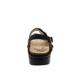 Finn Comfort Sasso, Sandale, Nubukled. kombi., Atlantic/Argento 2469-901616