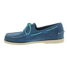 Sebago Docksides, Blue Nubuck B720338 Men