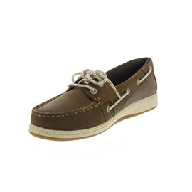 Sebago Maleah Two Eye, Dark Brown Leather B633268 Women