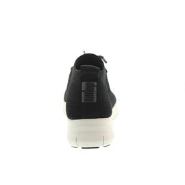 FitFlop Uberknit Slip-On High Top Sneaker Black