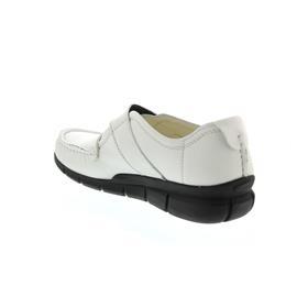 Wolky Yukon, White, Leoa Leather, Klettverschluss, Glattleder, 1500-710