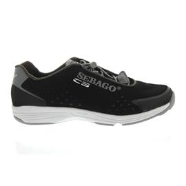 Sebago Cyphon Sea Sport, Black / Grey Textile B510294 Women