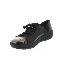 FitFlop F-Sporty Mirror-Toe Sneakers Black