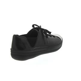 FitFlop F-Sporty Mirror-Toe Sneakers Black