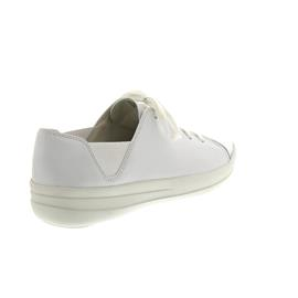 FitFlop F-Sporty Mirror-Toe Sneakers Urban White