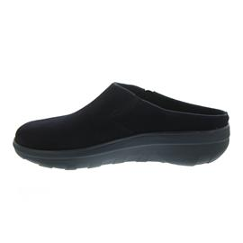 FitFlop Loaff Suede Clogs Supernavy