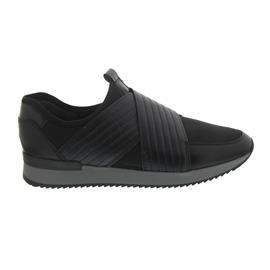Gabor Sneaker, Effekt Met. EL / Nappa, schwarz, Best Fitting, Wechselfußbett 74.421.67