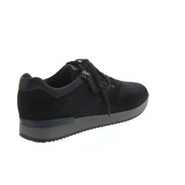 Gabor Sneaker, Samtch/Coat HT/Met, pazifik/denim, Best Fitting, Wechselfußbett 74.420.16