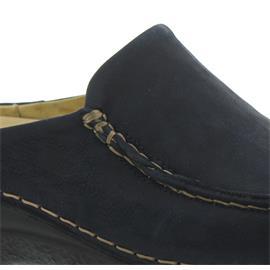 Wolky Seamy-Slide, Clog, Antique nubuck, Blue 06250-11802