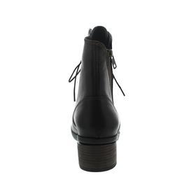Wolky Forth, Softy Wax (Glattleder), Brown (dunkelbraun) Schnürung und Reißverschluss 01377-30302