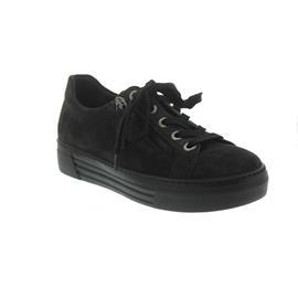 Gabor - Comfort Florenz, Sneaker, Dreamvelour, dark-grey, Wechselfußbett, Weite G 76.468.39