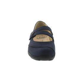 Finn Comfort Vivero, Ballerina (Klett), Patagonia (Nubukleder), Atlantic (dunkelblau) 2353-373041