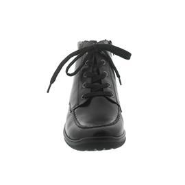 Waldläufer Hesna, Memphis (Glattleder) / Shine (Metallic), schwarz / anthrazit, Weite H 312802-206-7
