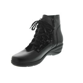 Waldläufer Haga, Memphis / Carmen (Glatt- / Nubukleder), schwarz, Weite H 305804-402-001