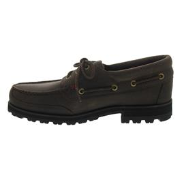 Sebago Vershire Three Eye, Waterproof, Dark Brown Leather B710066 Men