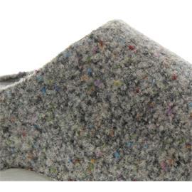 FitFlop Shuv Felt Clog, Textile, Soft-Grey 193-482