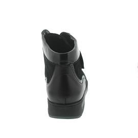 Waldläufer Mimi, Iseo/Denver/Taipei (Glatt-/Nubuk-/Lackleder) , schwarz, Extraweite M 812815-301-001
