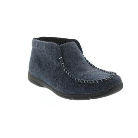 Romika Traveler H 02, Filz, blau, Weite G 50602-VL54-500