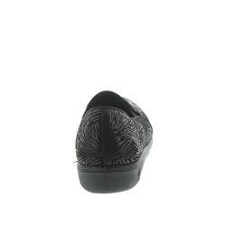 Romika Romilastic 127, Textil, schwarz-kombi, Gummizüge, Weite H 66007-70-101