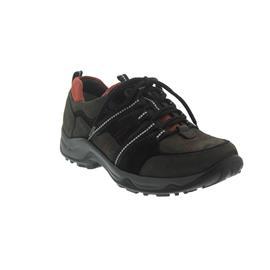 Waldläufer Hadel, Waldläufer-Outdoor, Denver (Nubuk)/Torrix, carbon/schwarz/fire, Weite H 944004-300