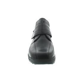 Waldläufer Kai, Klettverschluss, Glattleder, Extraweite K, Futter echt Lammfell, schwarz 613901