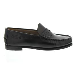 Sebago Plaza II, Penny-Loafer, Black Leather B616100 Women