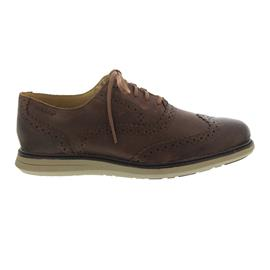 Sebago Smyth Wing Tip, Brown Leather, Ortholite Fussbettung B130276 Men