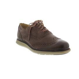Sebago Smyth Wing Tip, Brown Leather, Ortholite Fussbettung B130276 Men