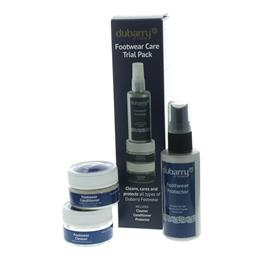 Dubarry Footwear Care Trial Pack, Probe-Pflegeset für Glatt- und Nubukleder